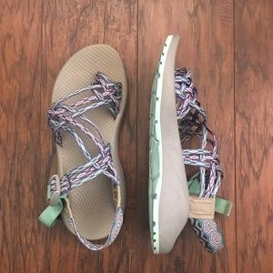 Chacos ZX/3 in Aqua Mint Sz. 8
